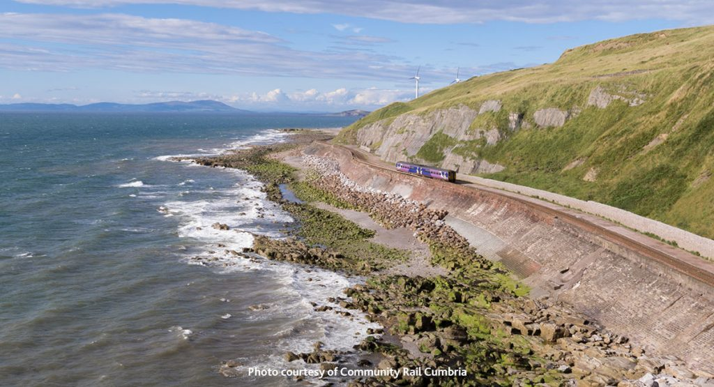 Cumbria's West Coast railway line