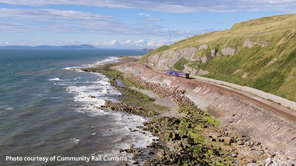 Cumbria's West Coast railway line