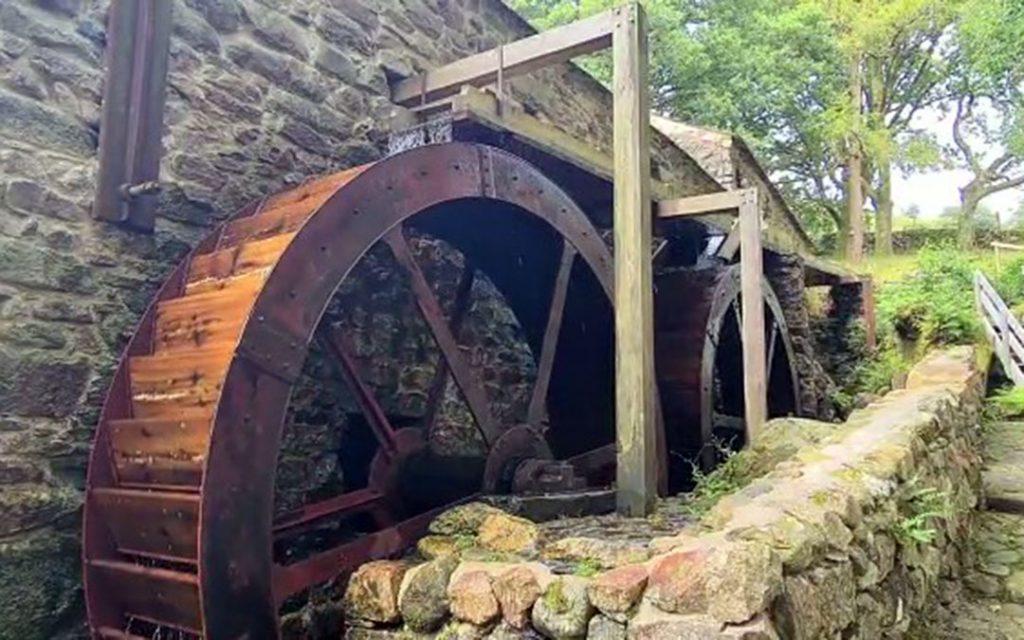 Eskdale Mill Waterwheel